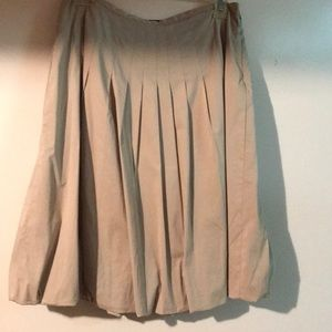 Khaki Juniors Size 2 skirt